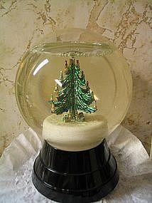 Vintage Christmas Snow Globe