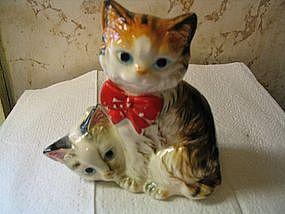 Vintage Kittens Figurine
