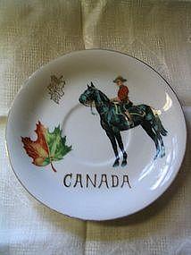 Canada Saucer