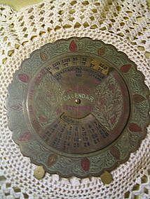 Brass 55 Year Calendar