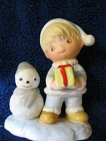 Homco Christmas Figurine