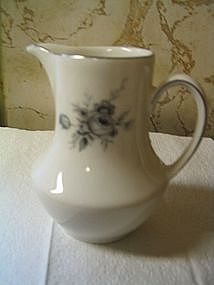 Winterling Gray Roses Creamer