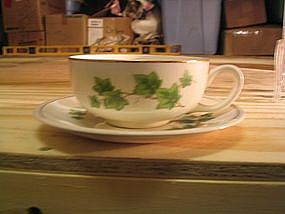 Paden City Ivy Cup and Saucer