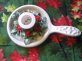Vintage Christmas Candle Holder