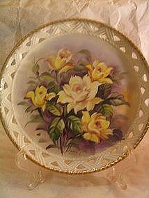 Gardenia Plate