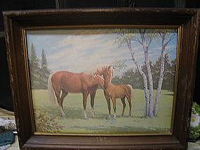 Lynch Horse Print