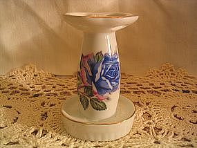 Blue Rose Toothbrush Holder