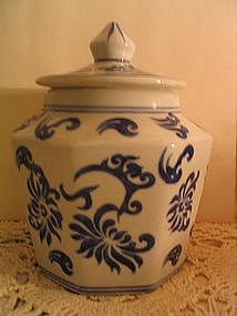 Seymour Mann China Blue Canister