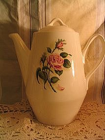 Rose Coffee Pot