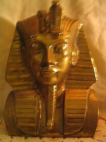 Brass King Tut Bust