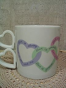 Avon Love Is Mug  SOLD