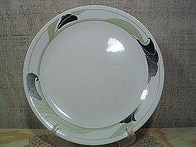 Corelle Black Orchid Plate