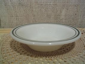 Pyrex Green Band Bowl