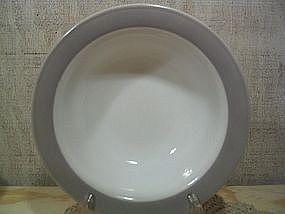 Pyrex Gray Band Platter