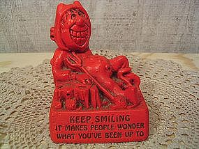 Paula Devil Figurine