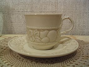 Vernon Antiqua Cup and Saucer