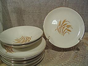 Golden Wheat Dishes