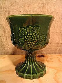 Pottery Fruit Goblet Planter