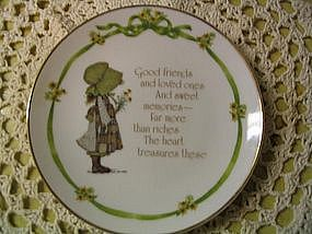 Holly Hobbie Plate