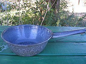 Gray Enamel Pan