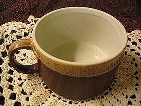Brown Drip Mug