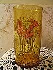 Amber Glass Flowers