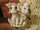 Poodle Couple Figurine