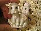 Poodle Couple Figurine