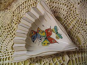 Butterfly Fan Ashtray