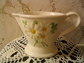 Metlox Sculptured Daisy Creamer