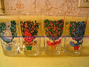 12 Days of Christmas Glasses