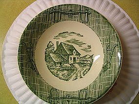 Scio Currier and Ives Bowl