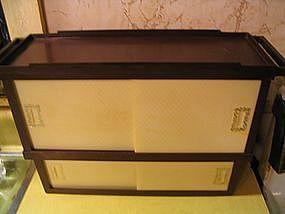 Vintage Plastic Cabinet