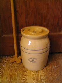 Marshall Pottery Churn