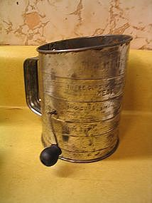 Vintage Bromwell Sifter