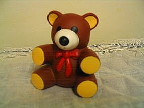 Vintage Squeak Teddy Bear  UNAVAILABLE