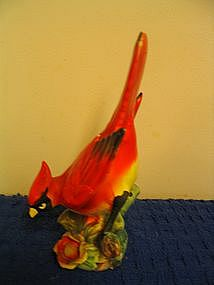 Ucagco Red Bird Figurine