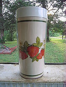 Thermo-Serv Strawberry Tumbler