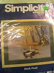 Simplicity Stitchery Duck Pond Kit