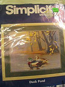 Simplicity Stitchery Duck Pond Kit