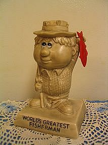 Berrie World's Greatest Fisherman Figurine