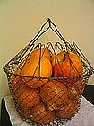 Vintage Folding Egg Basket