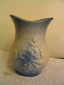 Antique Blue Pottery Vase