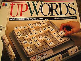 Milton Bradley Up Words Game UNAVAILABLE
