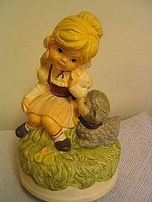 Mary had a Little Lamb Music Box