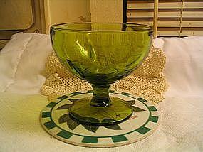 Green Goblet Vase