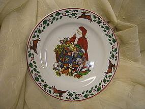 Susan Winget Sleigh Ride Plate