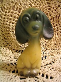 Vintage Plastic Dog Figure
