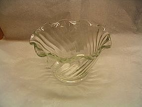 Anchor Hocking Ruffled Bowl