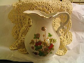 Vintage Strawberry Pitcher